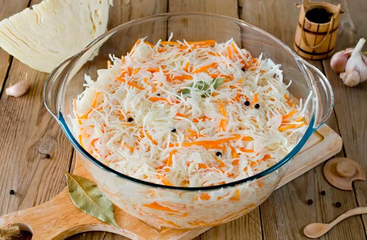 Квашеная капуста в банке: вкусные рецепты на зиму kapusta recept klassicheskij v banke 24