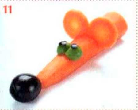 Животные из овощей и фруктов для сада и школы своими руками podelki zhivotnyh iz prirodnogo materiala svoimi rukami 113