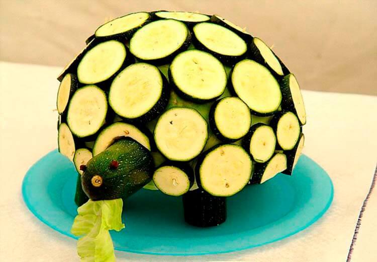 Животные из овощей и фруктов для сада и школы своими руками podelki zhivotnyh iz prirodnogo materiala svoimi rukami 132