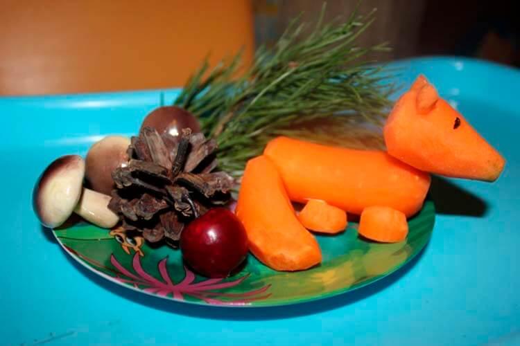 Животные из овощей и фруктов для сада и школы своими руками podelki zhivotnyh iz prirodnogo materiala svoimi rukami 144