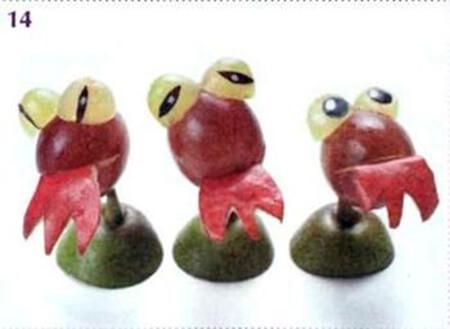 Животные из овощей и фруктов для сада и школы своими руками podelki zhivotnyh iz prirodnogo materiala svoimi rukami 32