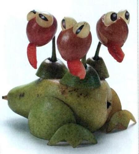 Животные из овощей и фруктов для сада и школы своими руками podelki zhivotnyh iz prirodnogo materiala svoimi rukami 33
