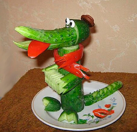 Животные из овощей и фруктов для сада и школы своими руками podelki zhivotnyh iz prirodnogo materiala svoimi rukami 61