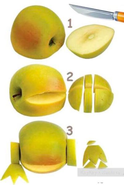 Животные из овощей и фруктов для сада и школы своими руками podelki zhivotnyh iz prirodnogo materiala svoimi rukami 83