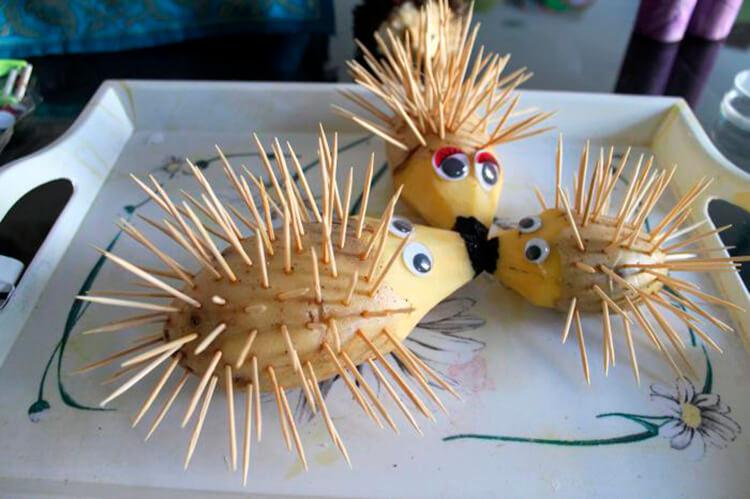 Поделки из картошки для сада и школы своими руками svoimi rukami podelki iz kartoshki 13