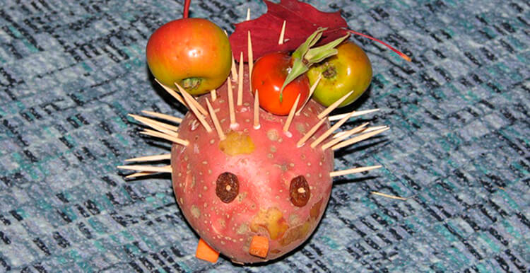 Поделки из картошки для сада и школы своими руками svoimi rukami podelki iz kartoshki 14