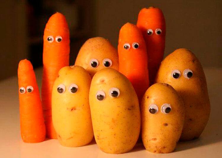 Поделки из картошки для сада и школы своими руками svoimi rukami podelki iz kartoshki 2