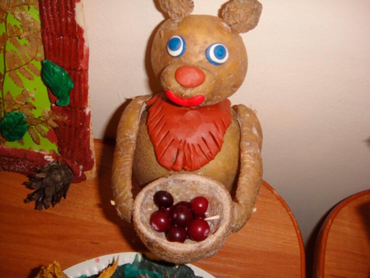 Поделки из картошки для сада и школы своими руками svoimi rukami podelki iz kartoshki 41