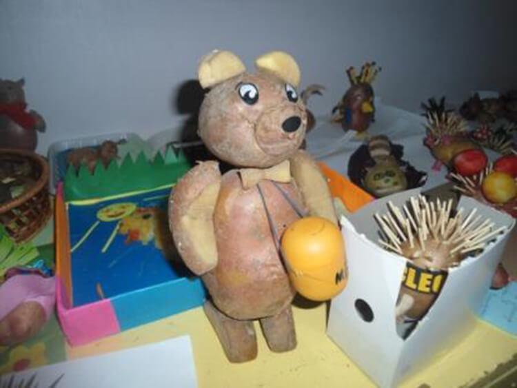 Поделки из картошки для сада и школы своими руками svoimi rukami podelki iz kartoshki 42