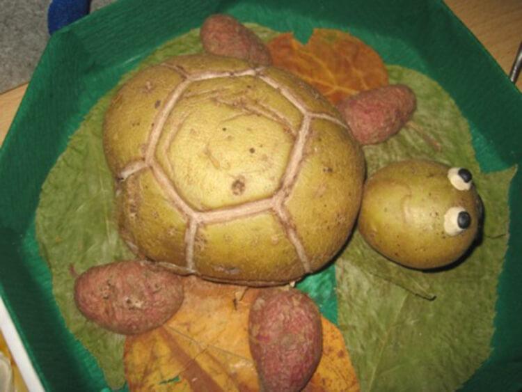 Поделки из картошки для сада и школы своими руками svoimi rukami podelki iz kartoshki 54