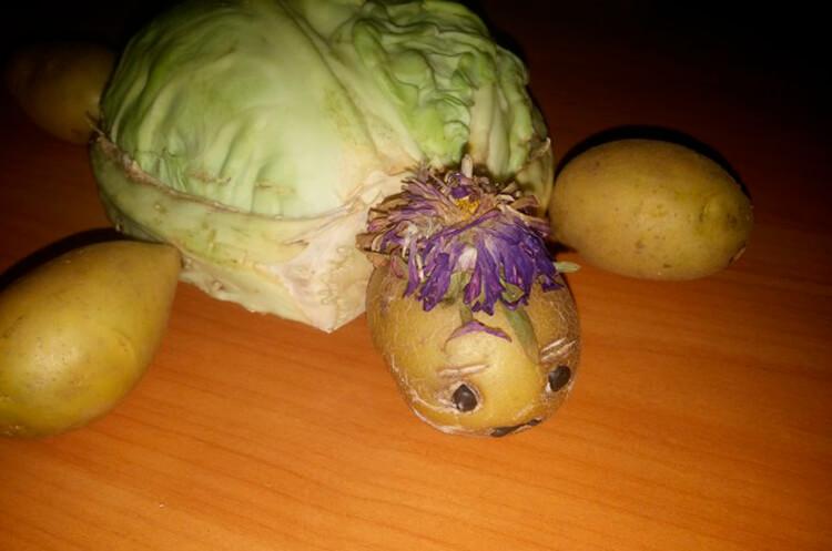 Поделки из картошки для сада и школы своими руками svoimi rukami podelki iz kartoshki 55