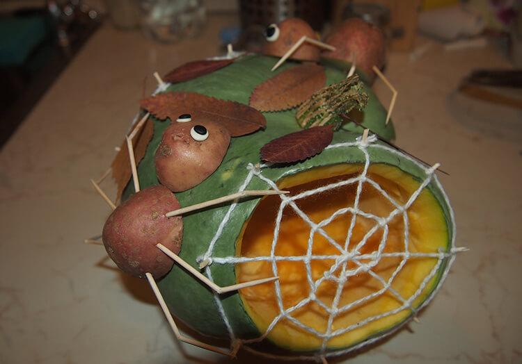 Поделки из картошки для сада и школы своими руками svoimi rukami podelki iz kartoshki 62
