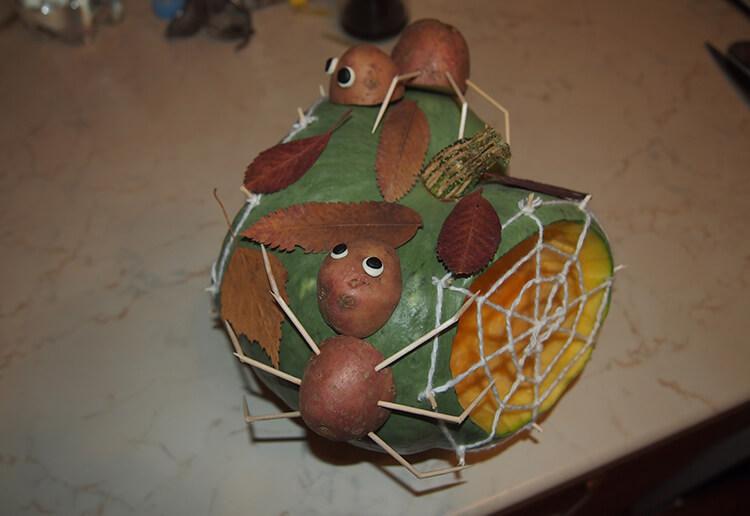 Поделки из картошки для сада и школы своими руками svoimi rukami podelki iz kartoshki 63
