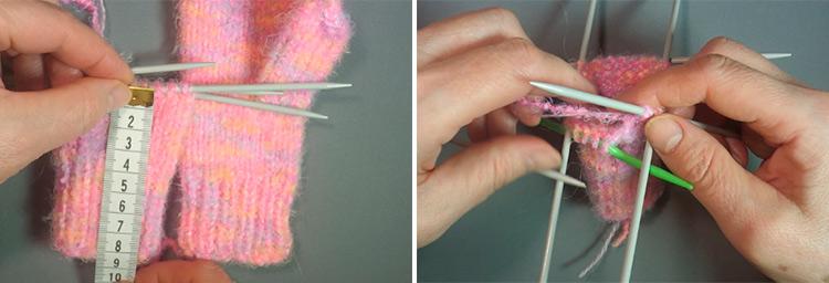 Красивые варежки для девочки спицами: защищаем ручки зимой 33 34
