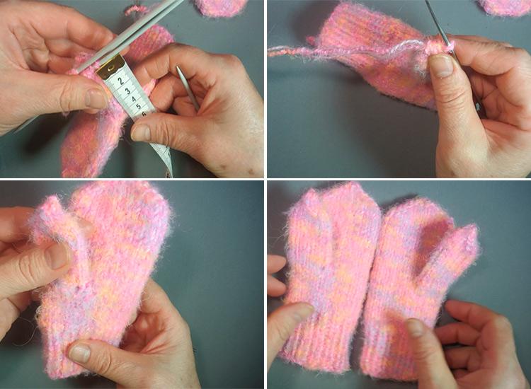 Красивые варежки для девочки спицами: защищаем ручки зимой 48 51