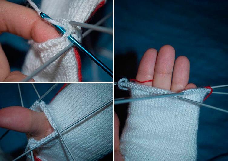 Красивые варежки для девочки спицами: защищаем ручки зимой 71 73