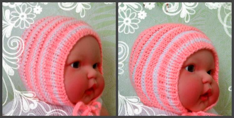 Чепчик для новорожденного: красивый головной убор спицами chepchik dlya novorozhdennogo spicami 2