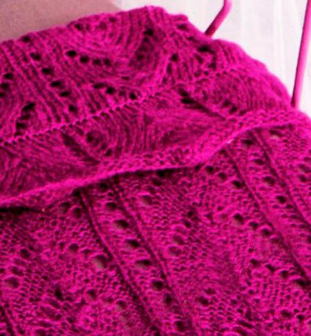 Теплое и красивое одеяло спицами для новорожденных detskoe odeyalo dlya novorozhdennogo spicami 19