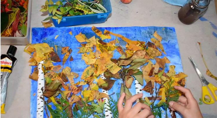 Различные поделки из природного материала в школу и садик osennie podelki iz prirodnogo materiala 112