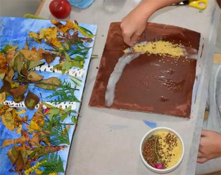 Различные поделки из природного материала в школу и садик osennie podelki iz prirodnogo materiala 113