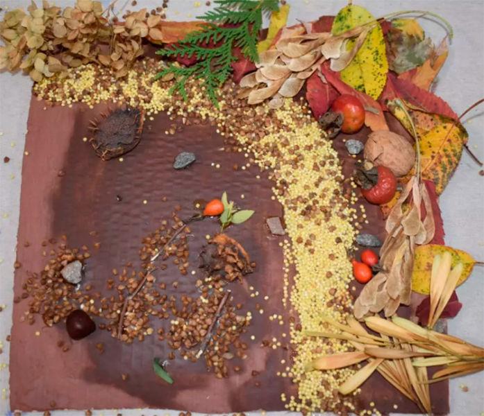 Различные поделки из природного материала в школу и садик osennie podelki iz prirodnogo materiala 115