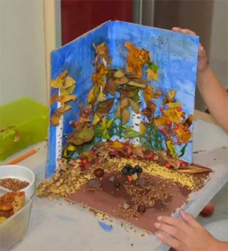 Различные поделки из природного материала в школу и садик osennie podelki iz prirodnogo materiala 116
