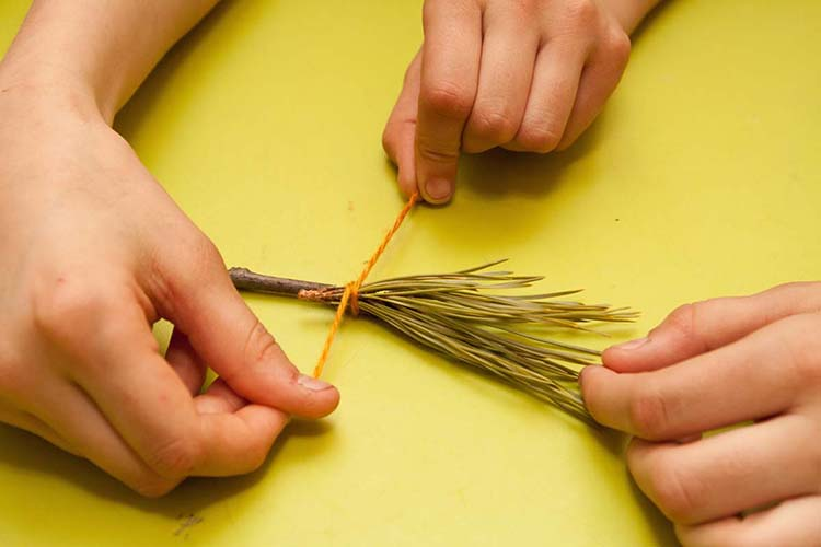 Различные поделки из природного материала в школу и садик osennie podelki iz prirodnogo materiala 6