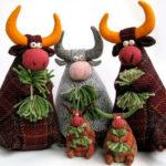Символ года 2021: как сделать быка в качестве новогоднего подарка