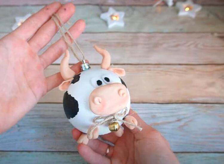 Символ года 2021: как сделать быка в качестве новогоднего подарка simvol 2021 goda svoimi rukami 12