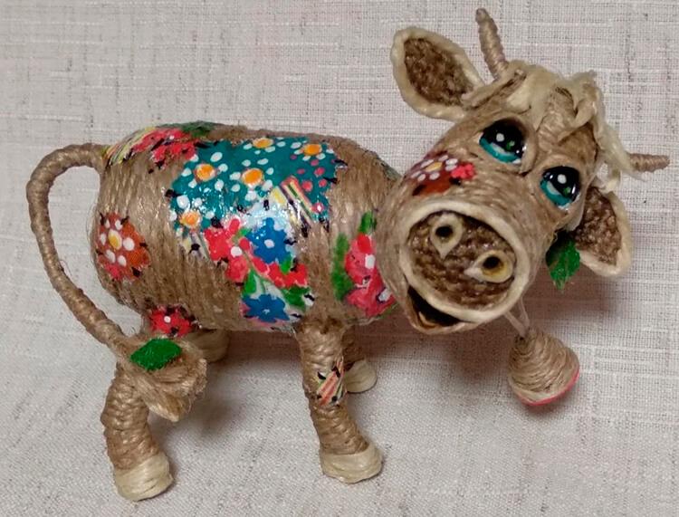 Символ года 2021: как сделать быка в качестве новогоднего подарка simvol 2021 goda svoimi rukami 147
