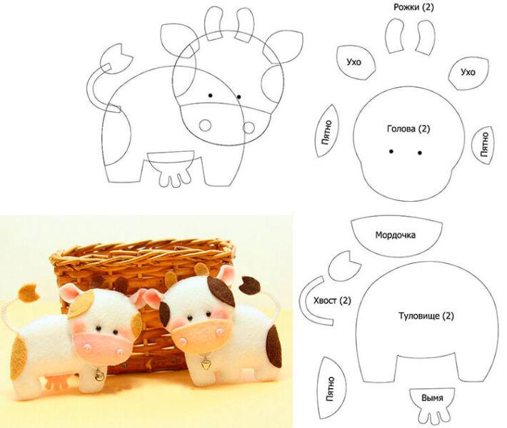 Символ года 2021: как сделать быка в качестве новогоднего подарка simvol 2021 goda svoimi rukami 157