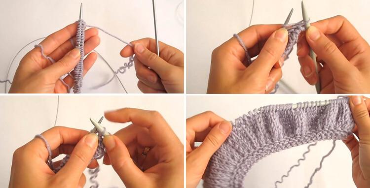 Красивый детский шарф спицами: защищаем горло ребенка в холода 12 15 1