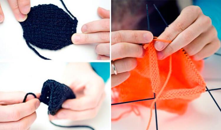 Красивый детский шарф спицами: защищаем горло ребенка в холода 23 24