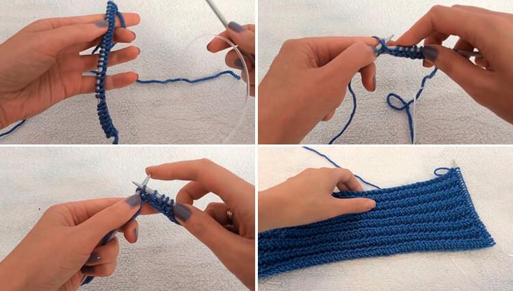Красивый детский шарф спицами: защищаем горло ребенка в холода 4 7