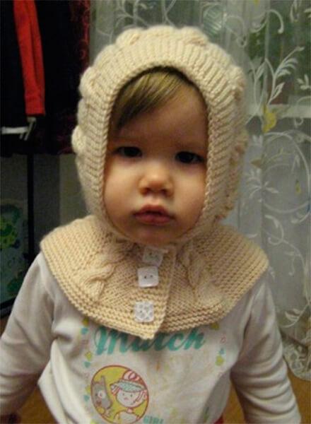 Красивые шапки для девочки: вяжем спицами на зиму shapka spicami dlya devochki 3