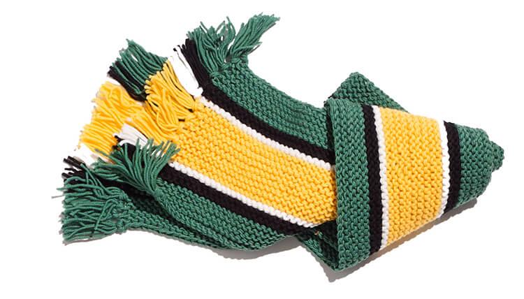 Красивый детский шарф спицами: защищаем горло ребенка в холода sharf detskij spicami 18