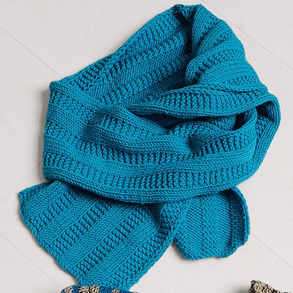 Красивый детский шарф спицами: защищаем горло ребенка в холода sharf detskij spicami 19