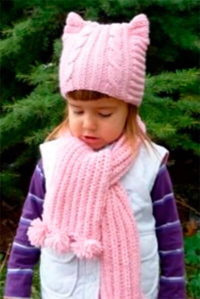 Красивый детский шарф спицами: защищаем горло ребенка в холода sharf detskij spicami 42