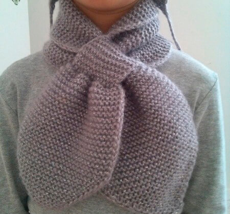 Красивый детский шарф спицами: защищаем горло ребенка в холода sharf detskij spicami 49