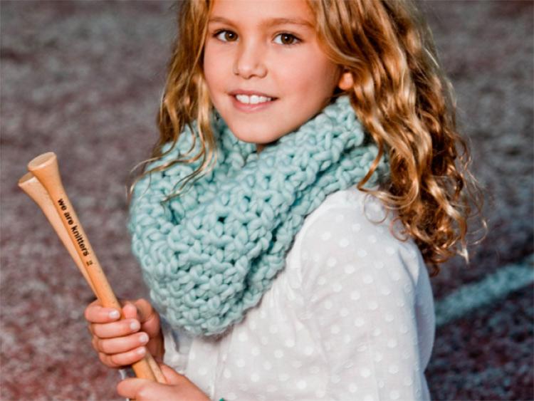 Шарф снуд для девочки спицами: вяжем красивый аксессуар на зиму snud spicami dlya devochki 28