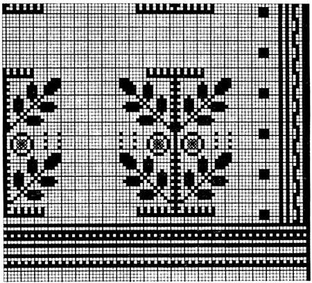 Красивые узоры спицами в технике Жаккард: схемы вязания vyazanie zhakkardovyh uzorov spicami 124