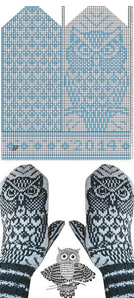 Красивые узоры спицами в технике Жаккард: схемы вязания vyazanie zhakkardovyh uzorov spicami 125