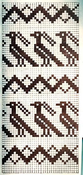 Красивые узоры спицами в технике Жаккард: схемы вязания vyazanie zhakkardovyh uzorov spicami 135