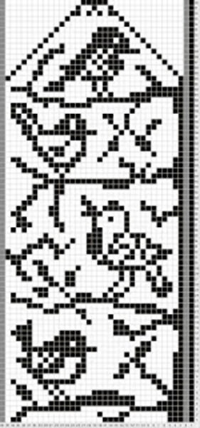 Красивые узоры спицами в технике Жаккард: схемы вязания vyazanie zhakkardovyh uzorov spicami 142