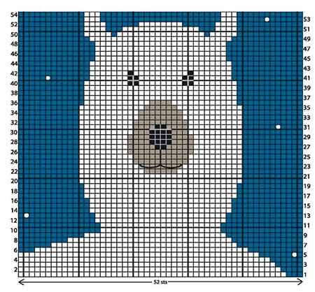 Красивые узоры спицами в технике Жаккард: схемы вязания vyazanie zhakkardovyh uzorov spicami 145