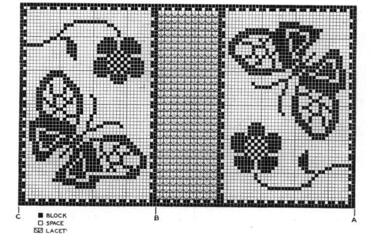 Красивые узоры спицами в технике Жаккард: схемы вязания vyazanie zhakkardovyh uzorov spicami 159