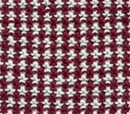 Красивые узоры спицами в технике Жаккард: схемы вязания vyazanie zhakkardovyh uzorov spicami 2 1