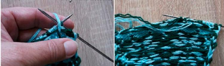 Красивые узоры спицами в технике Жаккард: схемы вязания vyazanie zhakkardovyh uzorov spicami 31 1
