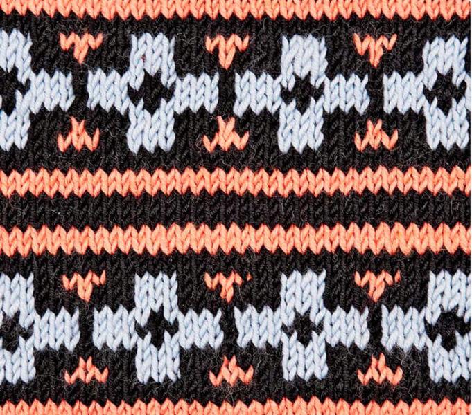Красивые узоры спицами в технике Жаккард: схемы вязания vyazanie zhakkardovyh uzorov spicami 33 1