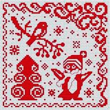 Красивые узоры спицами в технике Жаккард: схемы вязания vyazanie zhakkardovyh uzorov spicami 46 1